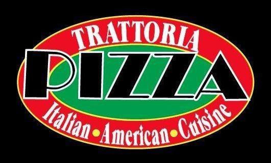 Trattoria Pizza Logo Graphic
